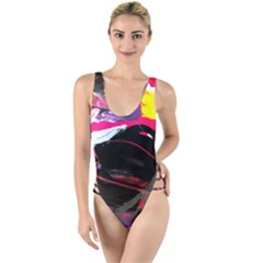 Consolation 1 1 High Leg Strappy Swimsuit