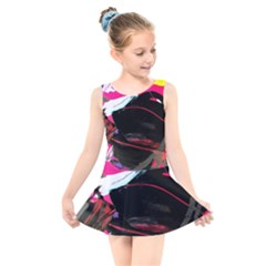 Consolation 1 1 Kids  Skater Dress Swimsuit