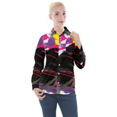 Consolation 1 1 Women s Long Sleeve Pocket Shirt
