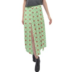 Df San Benito Velour Split Maxi Skirt by deformigo