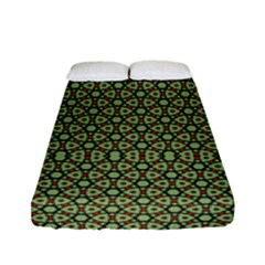 Df Lanika Fitted Sheet (full/ Double Size) by deformigo