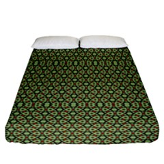 Df Lanika Fitted Sheet (california King Size) by deformigo