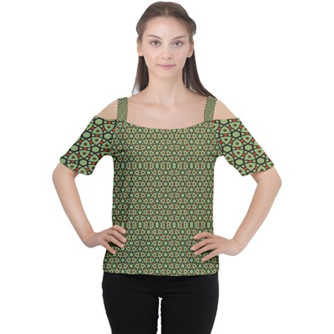 Df Lanika Cutout Shoulder Tee by deformigo