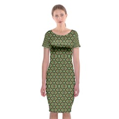 Df Lanika Classic Short Sleeve Midi Dress by deformigo