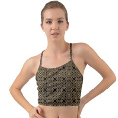 Df Tobacco Field Mini Tank Bikini Top by deformigo