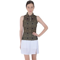 Df Tobacco Field Women s Sleeveless Polo Tee by deformigo