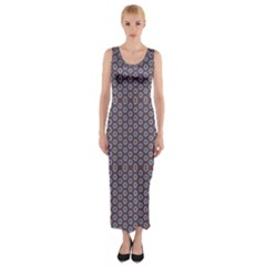 Df Jamu Fitted Maxi Dress by deformigo
