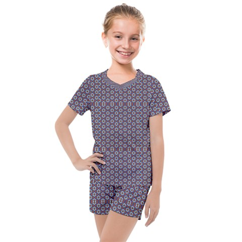 Df Jamu Kids  Mesh Tee And Shorts Set by deformigo