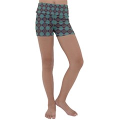 Df Catania Kids  Lightweight Velour Yoga Shorts by deformigo