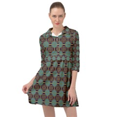 Df Catania Mini Skater Shirt Dress by deformigo
