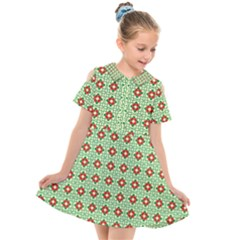 Df Manarola Kids  Short Sleeve Shirt Dress by deformigo