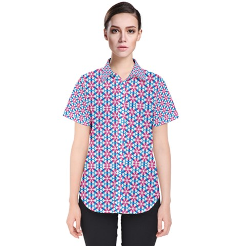 Df Nidaro Women s Short Sleeve Shirt by deformigo