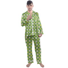 Df Matyas Men s Satin Pajamas Long Pants Set by deformigo