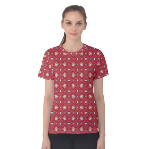 Df Rafflesia Women s Cotton Tee by deformigo