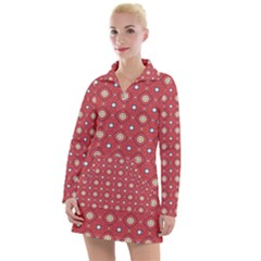 Df Rafflesia Women s Long Sleeve Casual Dress by deformigo