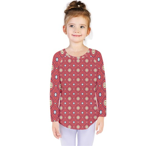 Df Rafflesia Kids  Long Sleeve Tee by deformigo