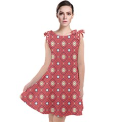 Df Rafflesia Tie Up Tunic Dress by deformigo