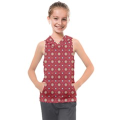 Df Rafflesia Kids  Sleeveless Hoodie by deformigo