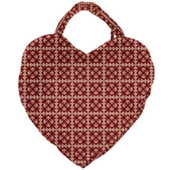 Df Pietri Giant Heart Shaped Tote by deformigo