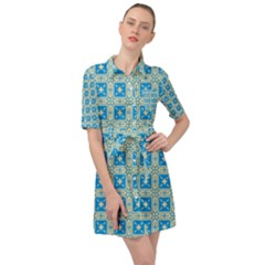 Df Iguassia Belted Shirt Dress by deformigo