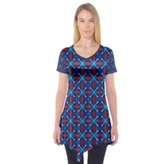 Df Pasticerria Short Sleeve Tunic  by deformigo