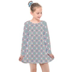 Df Mezzaniche Kids  Long Sleeve Dress by deformigo