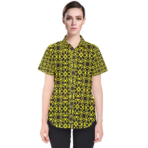 Df Manzanilla Women s Short Sleeve Shirt by deformigo