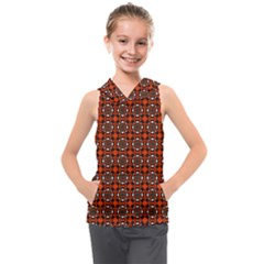 Df Mandarino Kids  Sleeveless Hoodie by deformigo