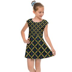 Df Joshimath Kids  Cap Sleeve Dress by deformigo