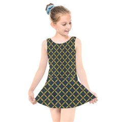 Df Joshimath Kids  Skater Dress Swimsuit by deformigo