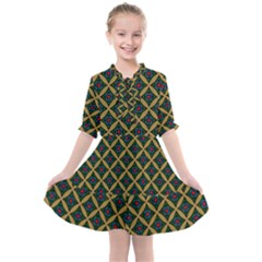 Df Joshimath Kids  All Frills Chiffon Dress by deformigo
