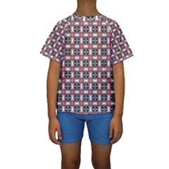 Df James Arguster Kids  Short Sleeve Swimwear by deformigo