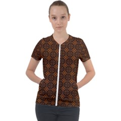 Df Vesper Short Sleeve Zip Up Jacket by deformigo