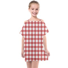 Df Crux Rubya Kids  One Piece Chiffon Dress by deformigo