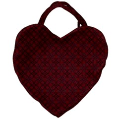 Df Rosendal Giant Heart Shaped Tote by deformigo