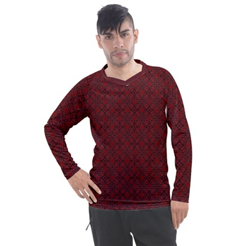 Df Rosendal Men s Pique Long Sleeve Tee by deformigo