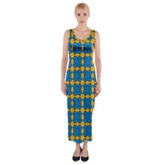 Df Jaisalmer Fitted Maxi Dress by deformigo