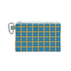 Df Jaisalmer Canvas Cosmetic Bag (small) by deformigo