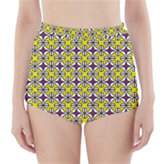 Df Florence Delem High Waisted Bikini Bottoms by deformigo