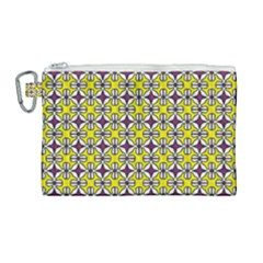 Df Florence Delem Canvas Cosmetic Bag (large) by deformigo