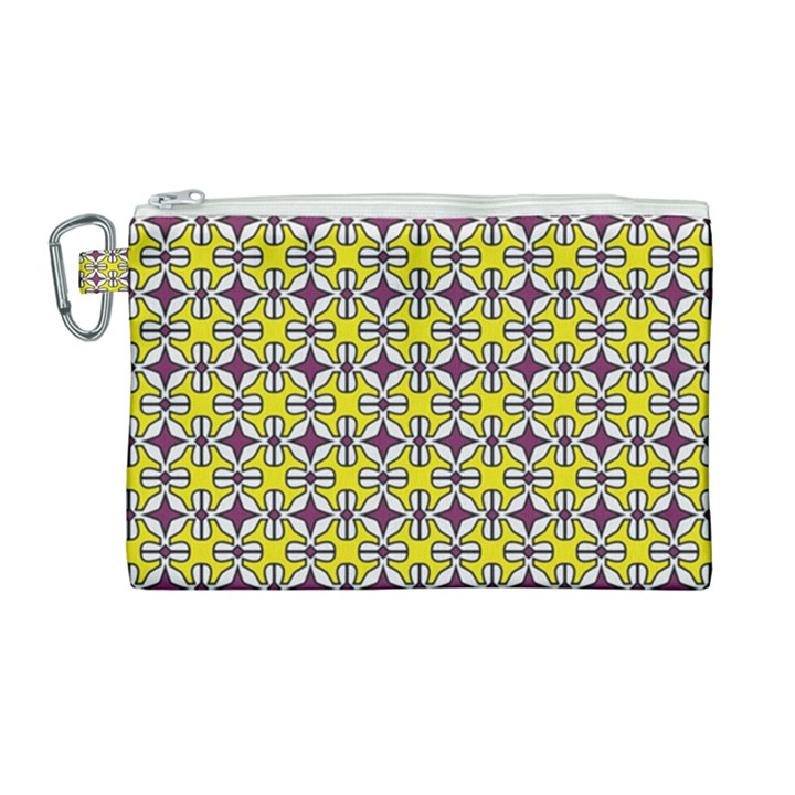DF Florence Delem Canvas Cosmetic Bag (Large)