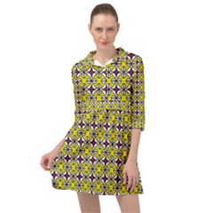 Df Florence Delem Mini Skater Shirt Dress by deformigo