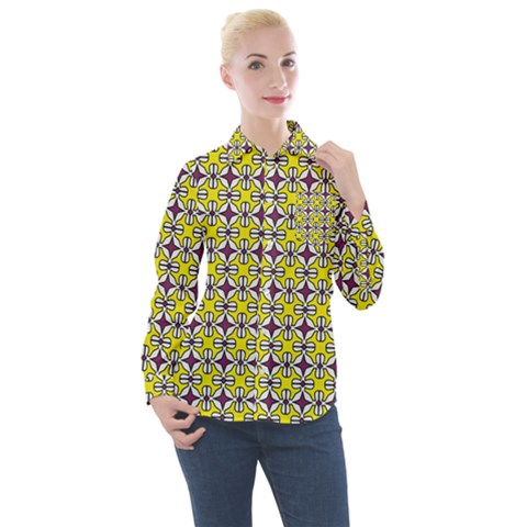 Df Florence Delem Women s Long Sleeve Pocket Shirt by deformigo