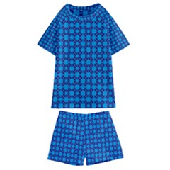 Df Loren Willards Kids  Swim Tee And Shorts Set by deformigo