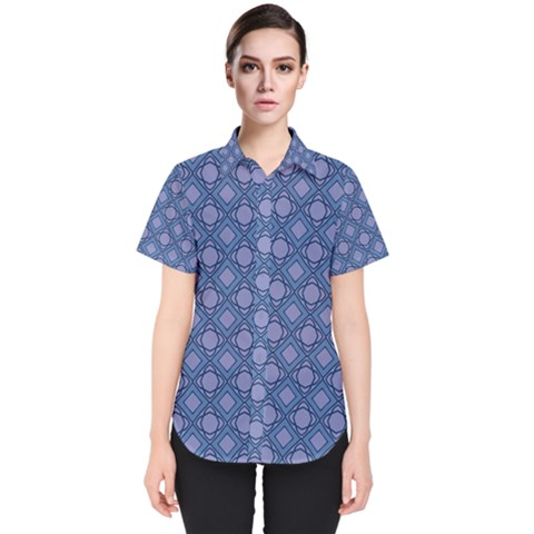 Df Marabou Women s Short Sleeve Shirt by deformigo