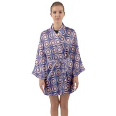 Df Asitane Long Sleeve Satin Kimono by deformigo