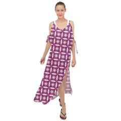 Df Crociere Maxi Chiffon Cover Up Dress by deformigo