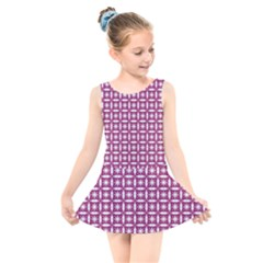 Df Crociere Kids  Skater Dress Swimsuit by deformigo