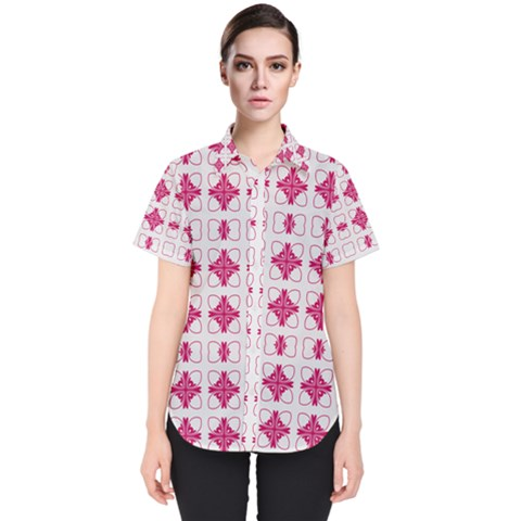 Df Hazel Conins Women s Short Sleeve Shirt by deformigo