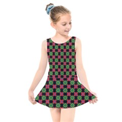 Df Heartflow Kids  Skater Dress Swimsuit by deformigo